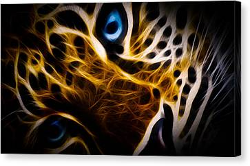 Blue Eye Canvas Print by Aged Pixel