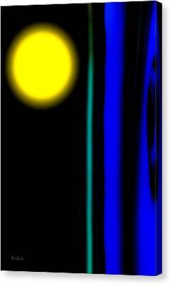 Blue Glass Canvas Print by Bob Orsillo