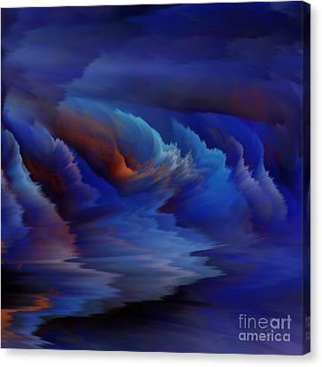 Blue Lagoon Canvas Print by Patricia Kay