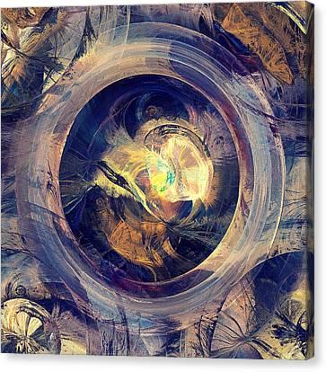 Blue Legend Canvas Print by Anastasiya Malakhova