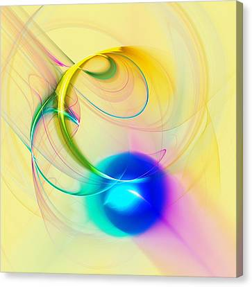 Blue Note Canvas Print by Anastasiya Malakhova
