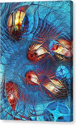 Blue Pond Canvas Print by Anastasiya Malakhova