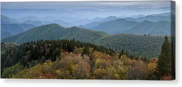 Blue Ridge Evening Canvas Print by Andrew Soundarajan