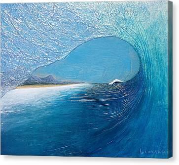 Blue Room Canvas Print by Nathan Ledyard