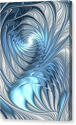 Blue Wave Canvas Print by Anastasiya Malakhova