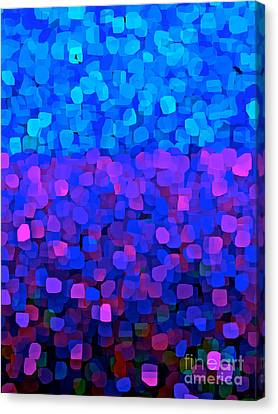 Blueberry Passion Fruit Canvas Print by Saundra Myles
