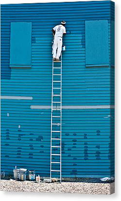 Blues Expert Canvas Print by David Scott
