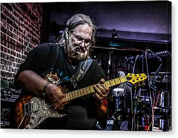 Bluesman Canvas Print by Ray Congrove