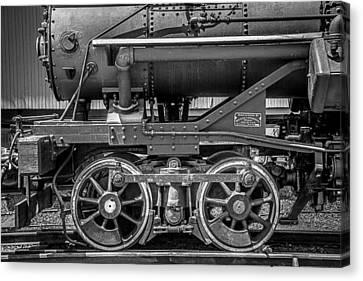 Bluestone Train Engine  Canvas Print by Garry Gay