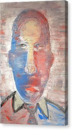 Blunt Force Tie Canvas Print by Brooke Friendly