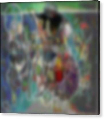 Blur #2 Canvas Print by George Curington
