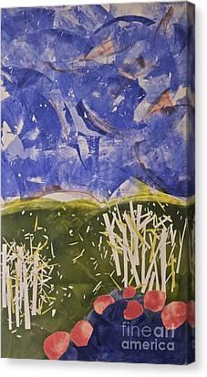 Blustery Day Canvas Print by Deborah Talbot - Kostisin