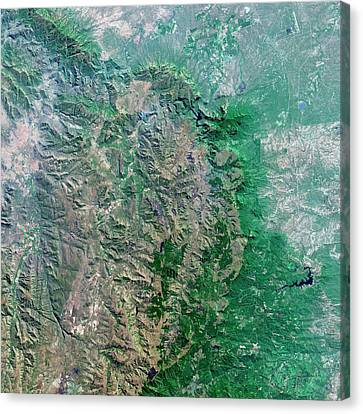 Blyde River Canyon Canvas Print by Us Geological Survey