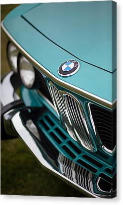 Bmw 3.0 Cs Front Canvas Print by Mike Reid