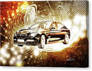 bmw Canvas Print by Isabel Salvador