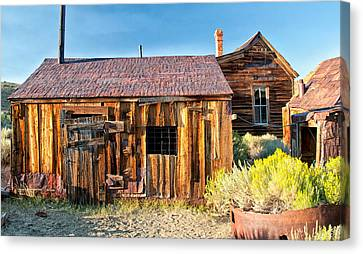 Boarded Up Canvas Print by Cat Connor