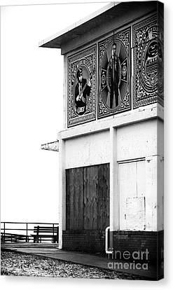 Boardwalk Building Canvas Print by John Rizzuto