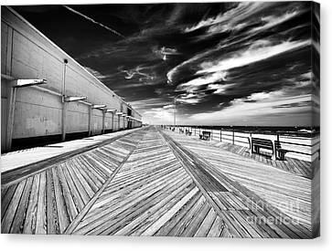 Boardwalk Walk Canvas Print by John Rizzuto