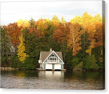 Boat House Canvas Print by Alfred Ng