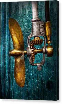 Boat - Propulsion  Canvas Print by Mike Savad