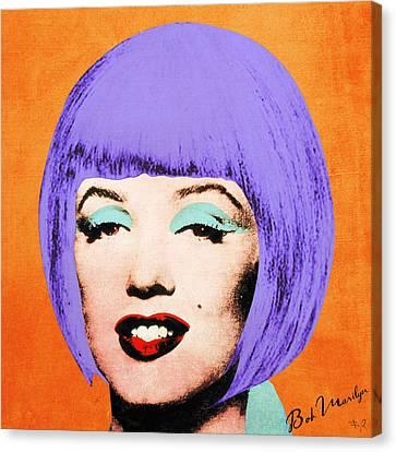 Bob Marilyn Variant 3 Canvas Print by Filippo B
