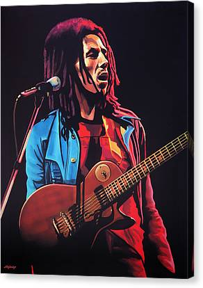 Bob Marley Tuff Gong Canvas Print by Paul Meijering