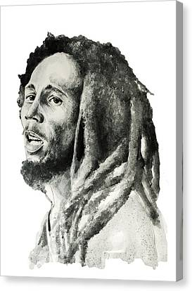 Bob Marley 7 Canvas Print by Bekim Art