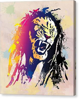 Bob Marley Canvas Print by Anthony Mwangi