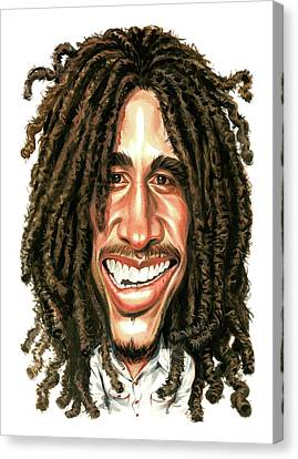 Bob Marley Canvas Print by Art