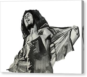 Bob Marley Canvas Print by Bekim Art