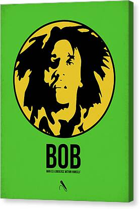 Bob Poster 3 Canvas Print by Naxart Studio