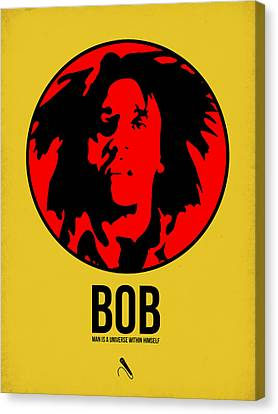 Bob Poster 4 Canvas Print by Naxart Studio