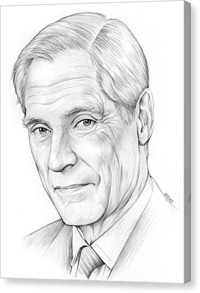 Bob Simon Canvas Print by Greg Joens