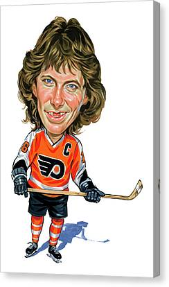Bobby Clarke Canvas Print by Art