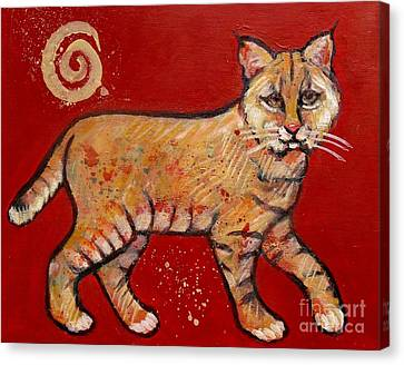 Bobcat Canvas Print by Carol Suzanne Niebuhr