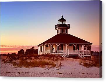 Boca Grande Lighthouse - Florida Canvas Print by Nikolyn McDonald