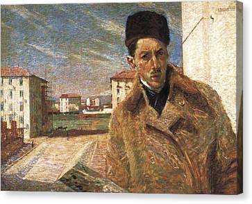 Boccioni, Umberto 1882-1916 Canvas Print by Everett