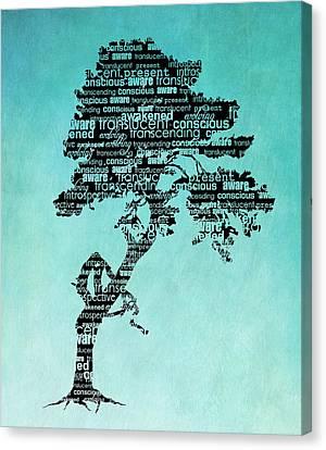 Bodhi Tree Of Awareness Canvas Print by Tammy Wetzel