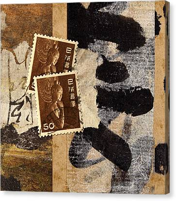 Bodhisattva 1952 Canvas Print by Carol Leigh