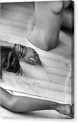 Body Parts Canvas Print by Stelios Kleanthous