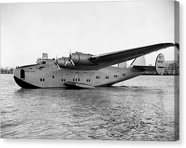 Boeing 314 Clipper 1939 Canvas Print by Mountain Dreams