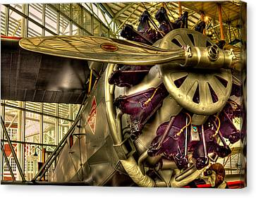 Boeing 80a-1 Passenger Airplane Canvas Print by David Patterson