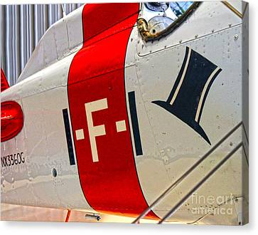 Boeing Fighter 4b-1 -  Close Up Canvas Print by Gregory Dyer