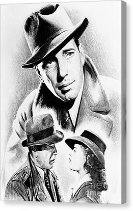 Bogart Canvas Print by Andrew Read