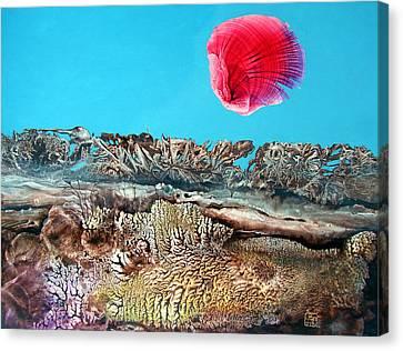 Bogomil Sunrise 2 Canvas Print by Otto Rapp