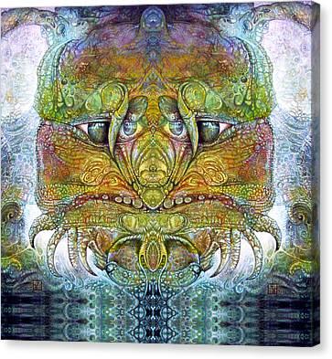 Bogomil Variation 11 Canvas Print by Otto Rapp