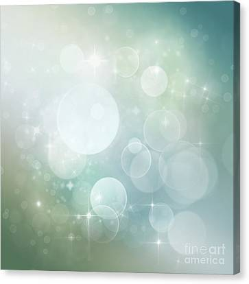 Bokeh Background Canvas Print by Mythja  Photography