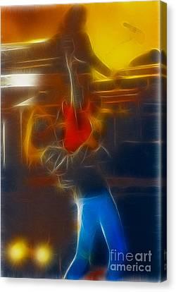 Bon Jovi-ritchie-gb2-fractal Canvas Print by Gary Gingrich Galleries