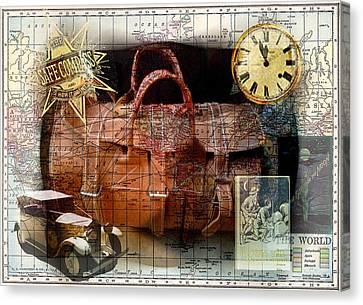 Bon Voyage Canvas Print by Sarah Vernon