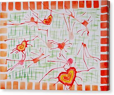 Bonds Of Love Canvas Print by Sonali Gangane